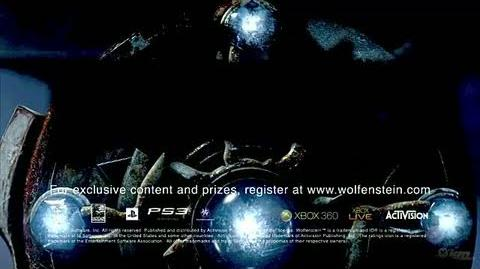 Wolfenstein Xbox 360 Trailer - Tesla Cannon Trailer