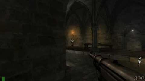 Return to Castle Wolfenstein map 2 - Castle Keep