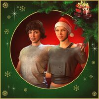 Jess and Soph Christmas card