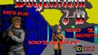 Let´s Play Wolfenstein 3D Episode 1 Level 1