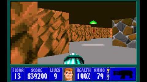 Spear of Destiny (id Software) (1992) Floor 13 HD