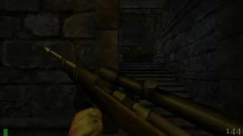 Return to Castle Wolfenstein map 7 - The Defiled Church