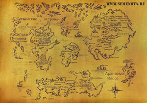 Wolfhound World Map
