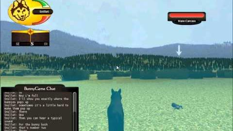 Wolfquest - The Bunny bush