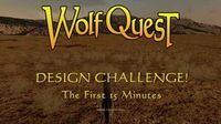 Design Challenge! The First 15 Minutes