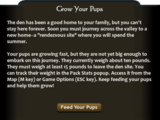Slough Creek (2.5)/Mission 5: Grow your Pups