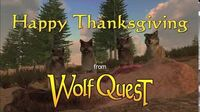 Happy Thanksgiving from WolfQuest!
