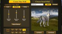 WolfQuest New wolf coats and howls -- coming in version 2