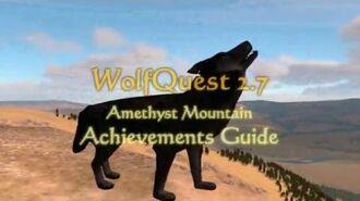WolfQuest 2.7 Amethyst Mountain - Achievements Guide
