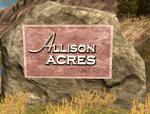 Allison-Acres sign