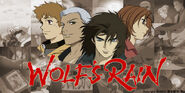 Wolf's Rain Official JP Site Main