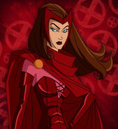 Scarlet Witch wolv and the x-men