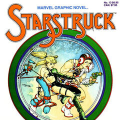The first Starstruck graphic novel, 1984.