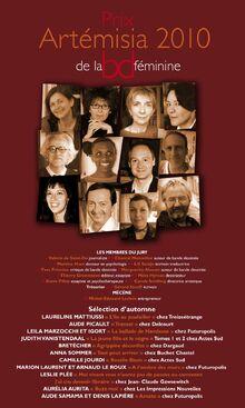 PrixArtemisia2010-poster