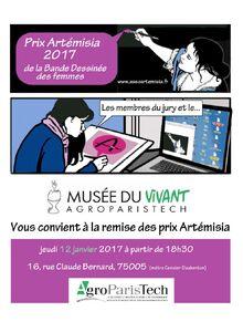 PrixArtemisia2017-invitation