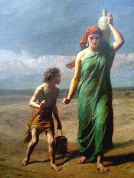 Hagar & Ishmael d