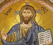220px-Cefalu Christus Pantokrator cropped