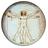 Da Vinci Vitruve Luc Viatour Cerchiato