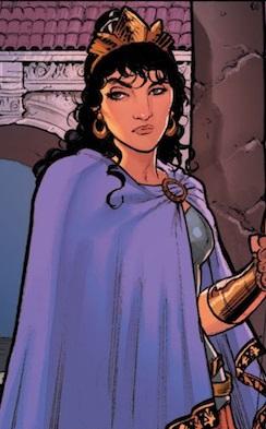 Hippolyta-DC Comics Rebirth-Wonder Woma