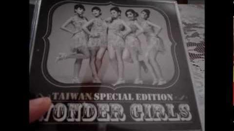 Wonder Girls - Taiwan Special Edition - Unboxing