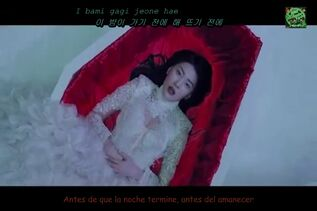 SunMi 1.- Full Moon ft. Lena MV Sub Español