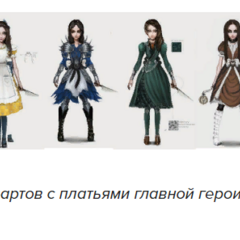 Концепты платьев
