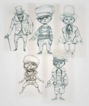 Children ( and a random old man ) of London. Heavily inspired on Oliver Twist.