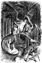 The Jabberwocky (John Tenniel)
