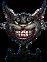 Чеширский кот, рендер