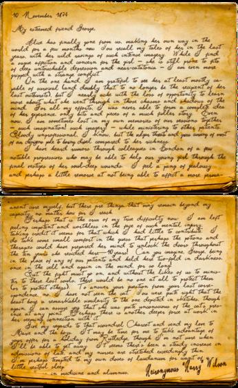 Harry Letter