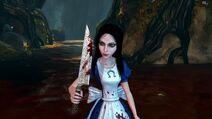 Алиса получила Вострый Нож.
