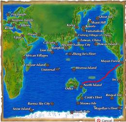 North island to maya Wonderland Online