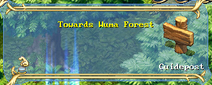 Wuma Forest sign