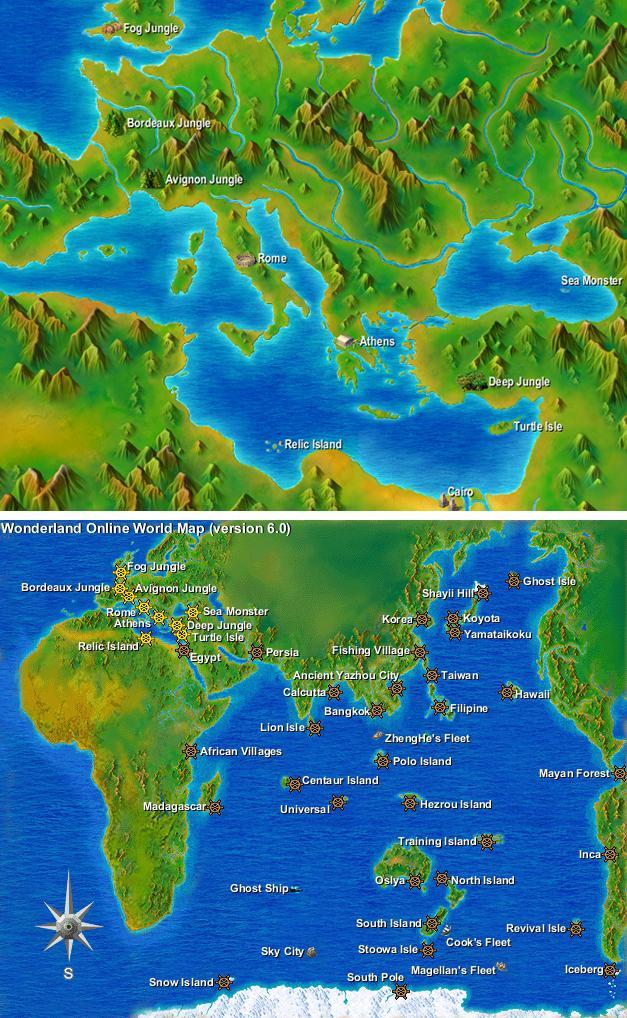 Image world mapg wonderland online wiki fandom powered by wikia world mapg gumiabroncs Images