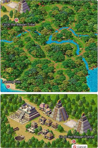 Mayan Forest Regions Wonderland Online