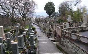 2107003-Japanese Graveyard Kyoto-1-