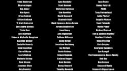 Wonder Women doc credits