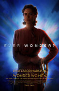 Professor Marston and the Wonder Women poster blue