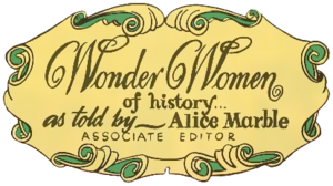 Wonder Women of History logo