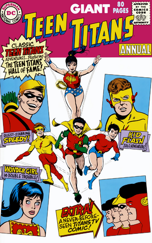 Teen Titans 80pg Annual 1999