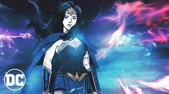 Wonder Woman Warbringer comic trailer