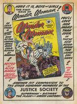 Sensation Comics 10 ad for WW1