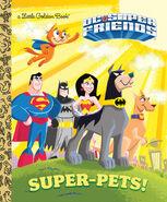 DC Super Friends Super Pets book