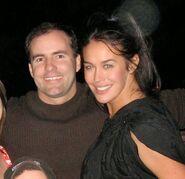 Greg van Borssum and Megan Gale