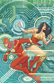Justice League 09 variant