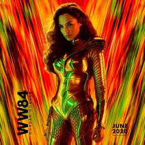 WW84 Wonder Woman Character Poster