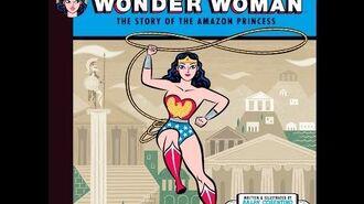Wonder Woman book Story of the Amazon Princess