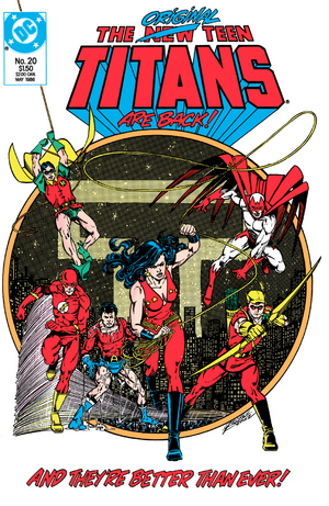 The New Teen Titans 20 1986