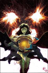 BvS variant Justice League 49 Matteo Scalera
