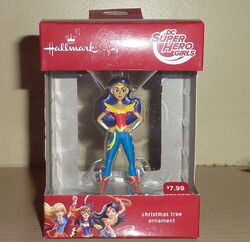 Hallmark ornament DC Super Hero Girls 2016